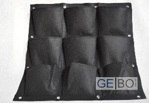 pflanzenwand schwarz pflanzen wand pflanztasche. Black Bedroom Furniture Sets. Home Design Ideas